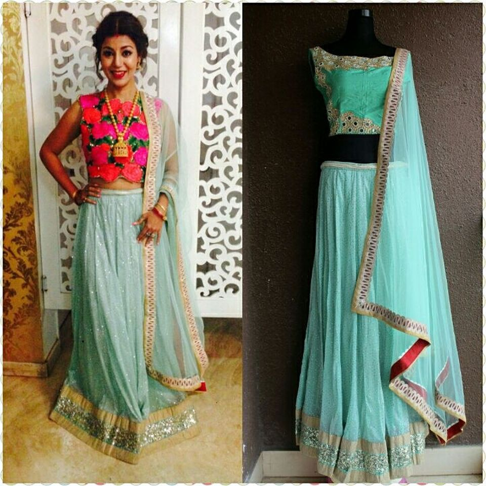 Debina Banerjee 1 Celebrity Fashion Designer Brand Priti Sahni - Celebrities