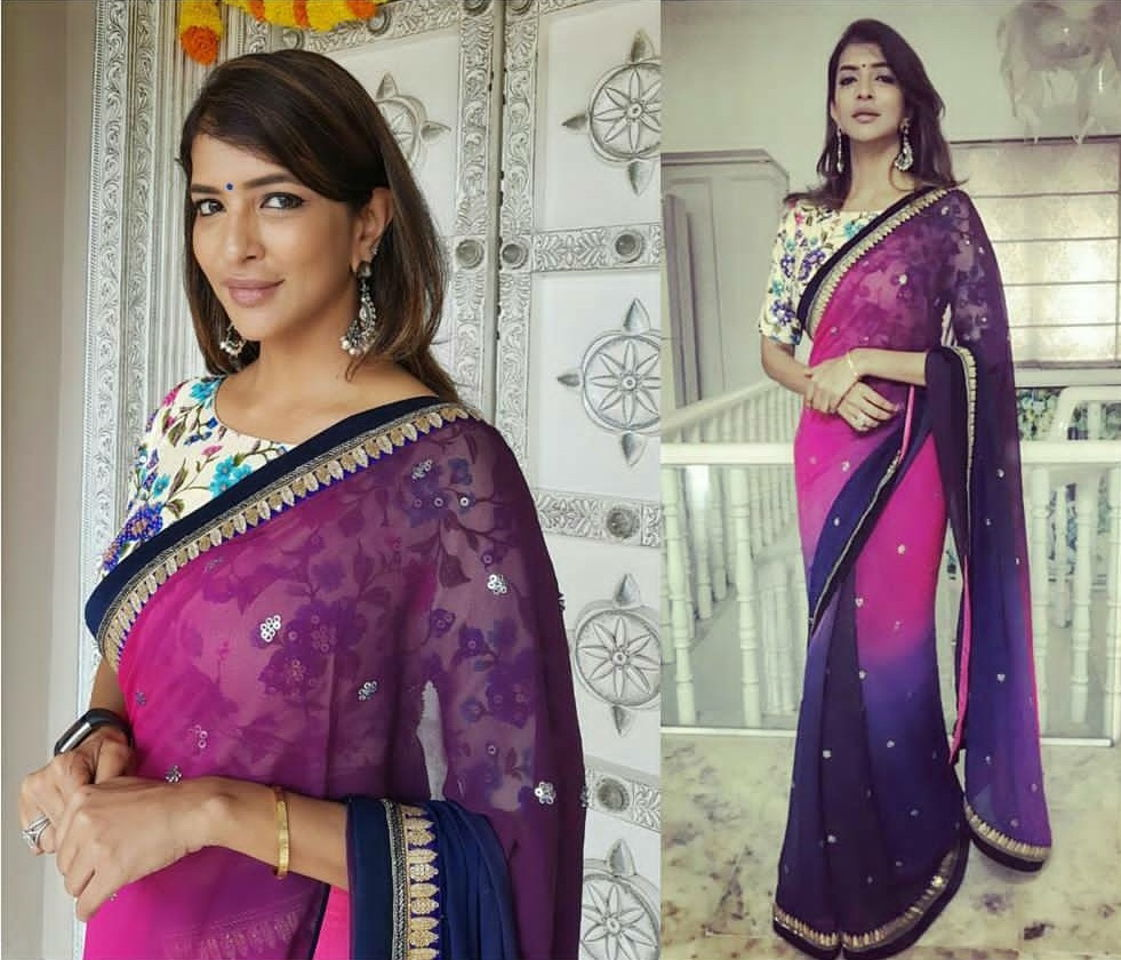 Lakshmi Manchu 4 Celebrity Fashion Designer and Brand Priti Sahni - Celebrities