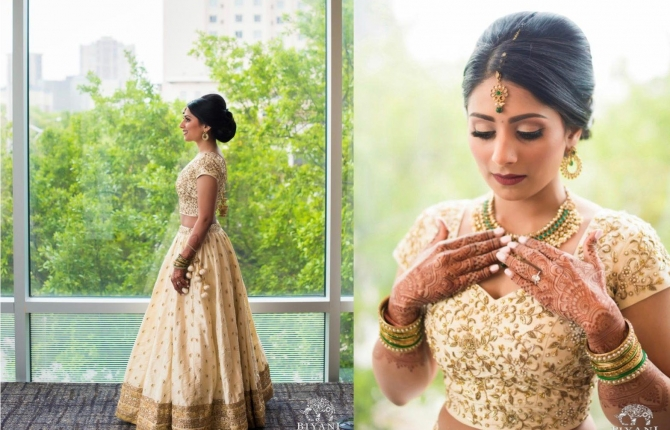 Making of Niti Bridal Outfit by Fashion Designer and Brand Priti Sahni 670x430 - Blog