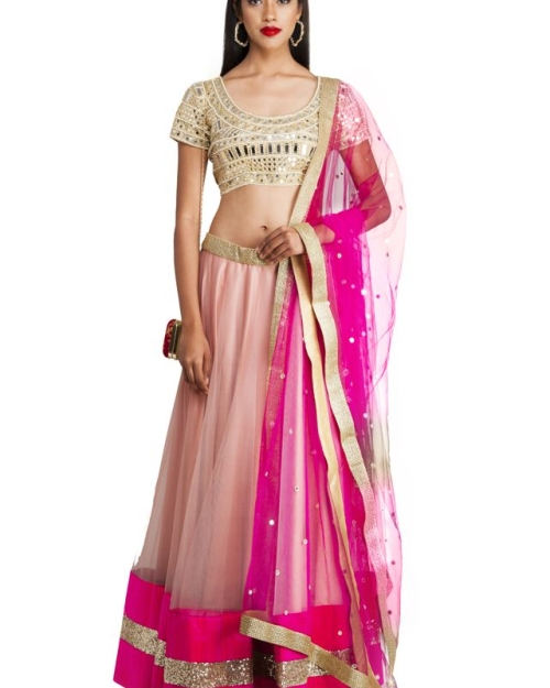 PSL115 1 Fashion Designer and Brand Priti Sahni 500x625 - Lehengas