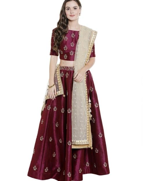 PSL188 1 Fashion Desiger and Brand Priti Sahni 500x625 - Lehengas