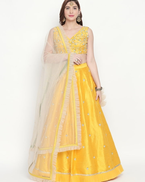 PSL3821 Fashion Designer and Brand Priti Sahni 500x625 - Lehengas