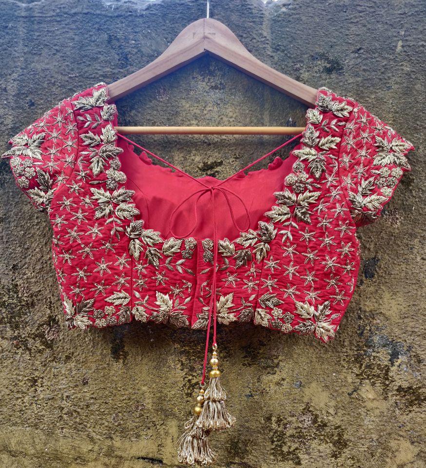 Red Bridal Lehenga Set - Fashion Brand & Designer Priti Sahni 12
