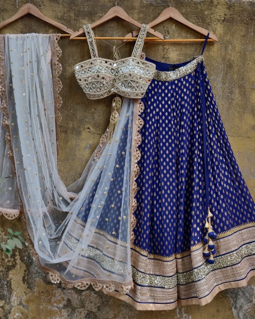 PSL489 1 Fashion Designer and Brand Priti Sahni 500x625 - Lehengas