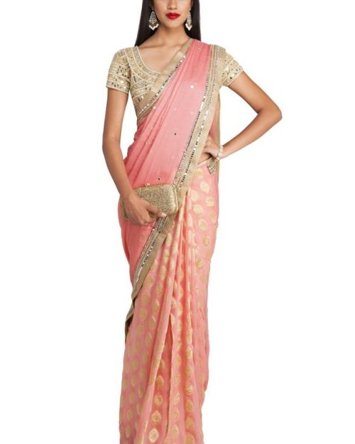 PSS401 1 Fashion Designer and Brand Priti Sahni 1 500x625 - Sarees