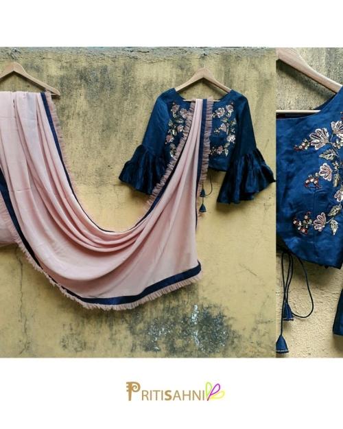 PSS503 1 Fashion Designer and Brand Priti Sahni 500x625 - Sarees