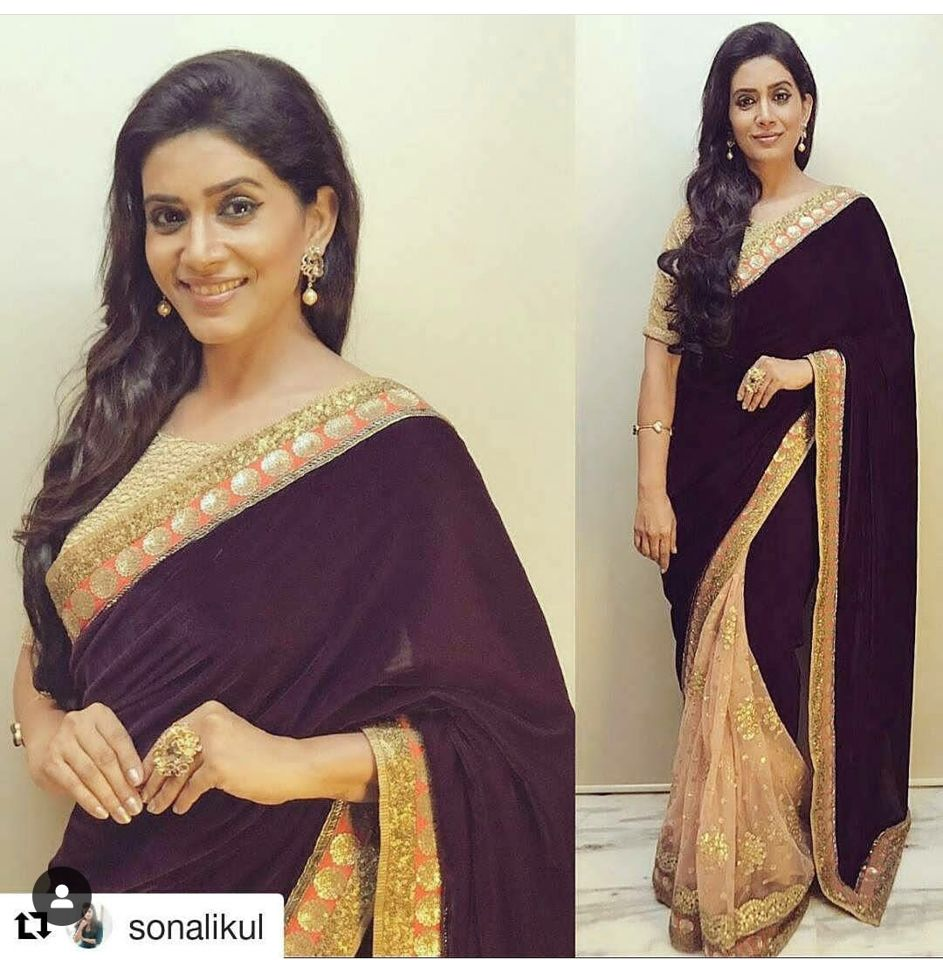 Sonali Kulkarni 3 Celebrity Fashion Designer Brand Priti Sahni - Celebrities