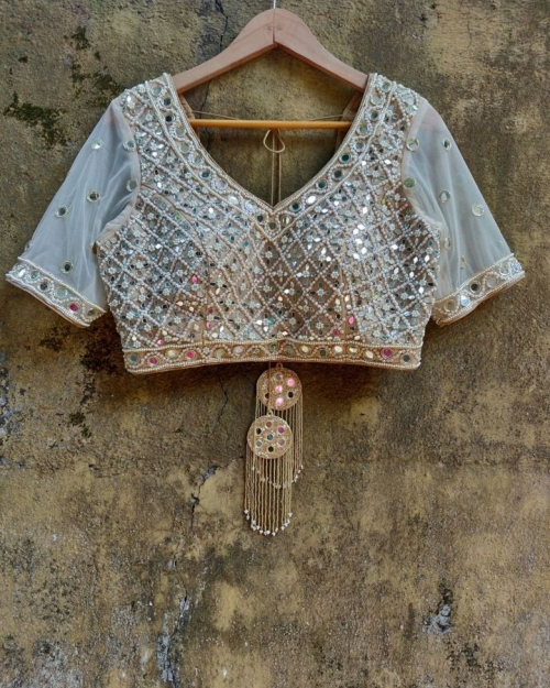 PSB03 1 Blouse Fashion Designer and Brand Priti Sahni 500x625 - Blouses