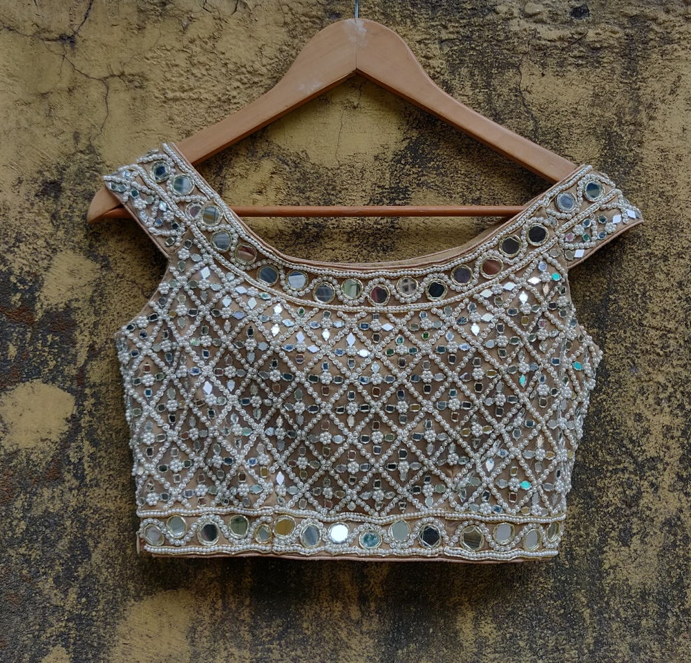 Mirror Offshouler Blouse