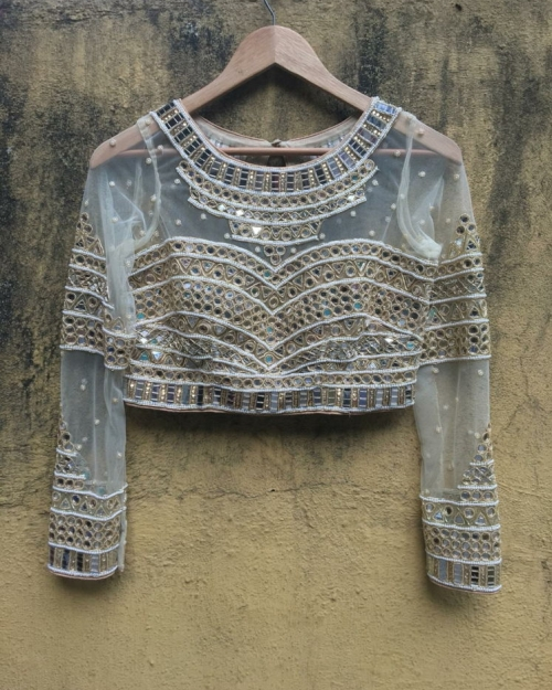 PSB07 1 Blouse Fashion Designer and Brand Priti Sahni 500x625 - Blouses