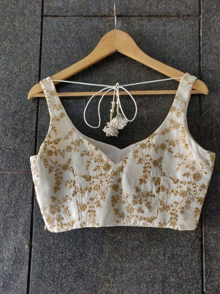 Ivory Zari Work Blouse