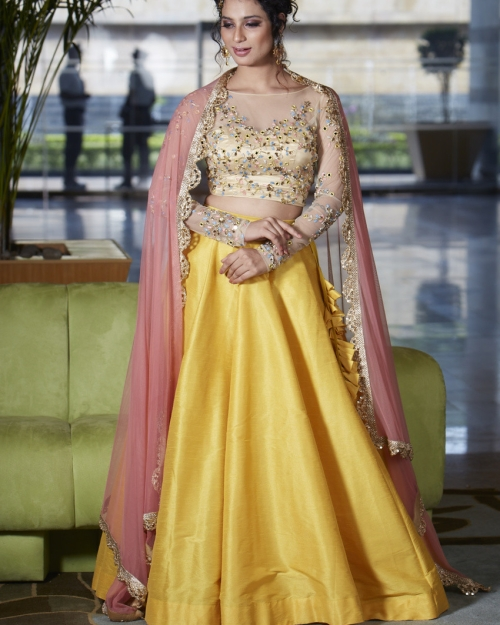 PSL314 1 Fashion Designer and Brand Priti Sahni 500x625 - Lehengas