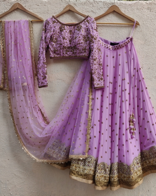 PSL532  Top Fashion Brand and Designer Priti Sahni Mumbai India 500x625 - Lehengas