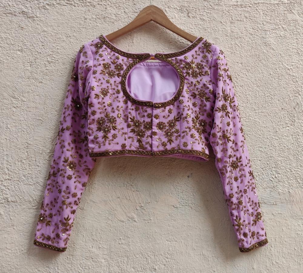 Lavender Sharmily Lehenga Set - Fashion Brand & Designer Priti Sahni 3