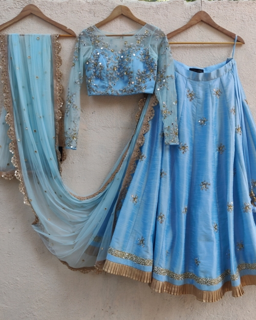 PSl530 1 Top Fashion Brand and Designer Priti Sahni Mumbai India 500x625 - Lehengas
