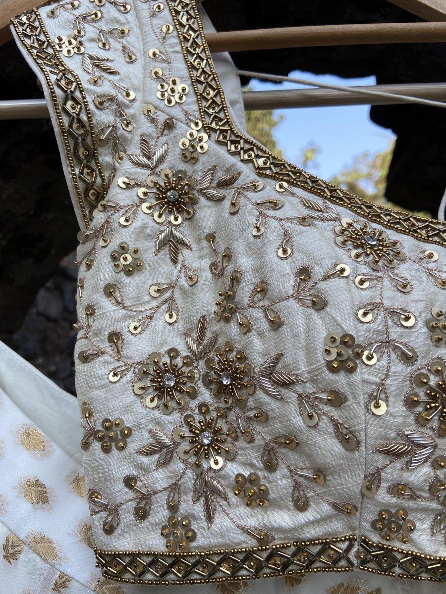 Ivory Sharmily Lehenga Set - Fashion Brand & Designer Priti Sahni 4