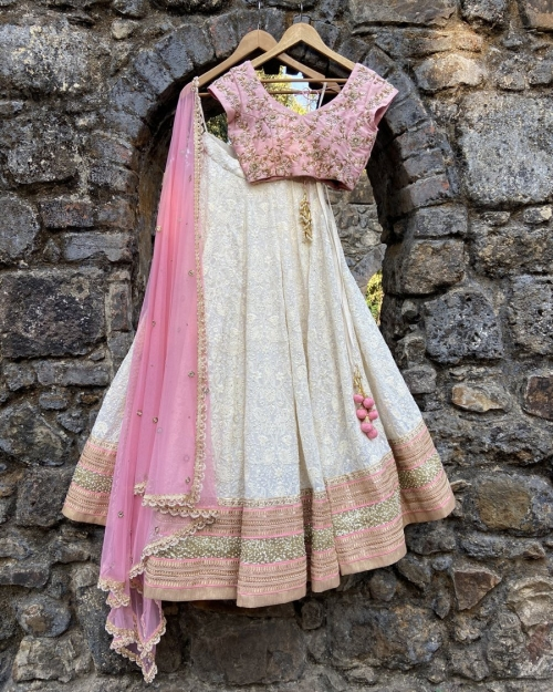 PSL546 1 Top Fashion Brand and Designer Priti Sahni Mumbai India 500x625 - Lehengas
