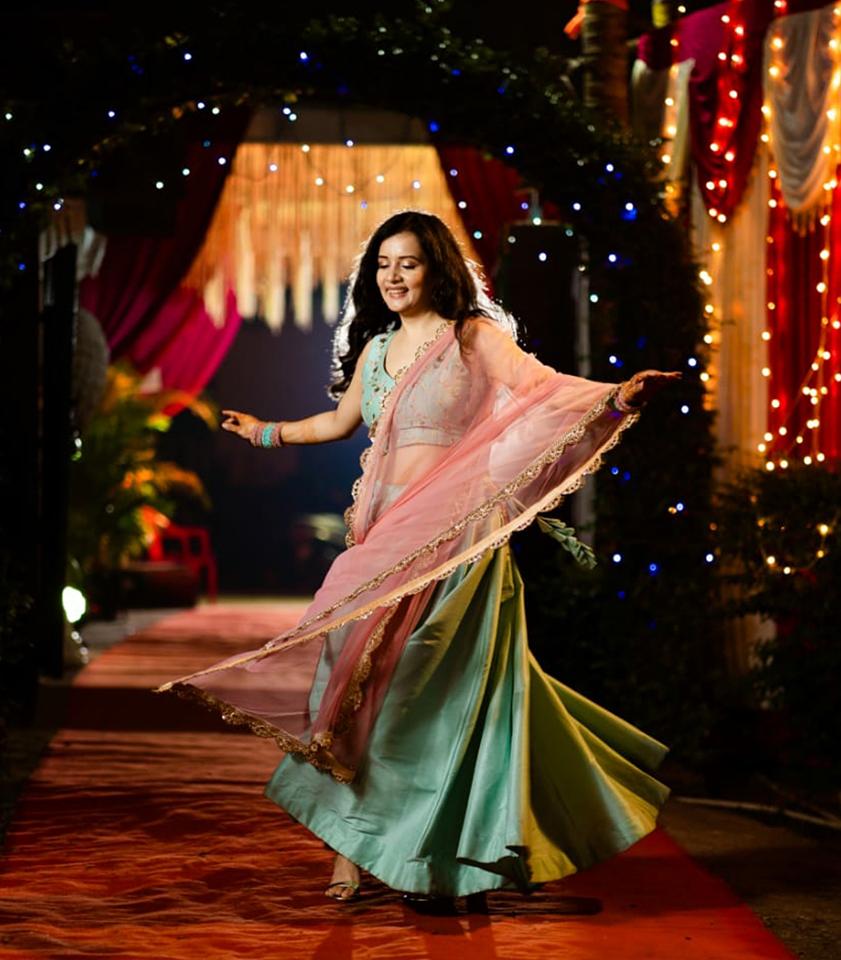 Sulagna Panigrahi - Celebrity - Top Fashion Brand and Designer Priti Sahni - 2