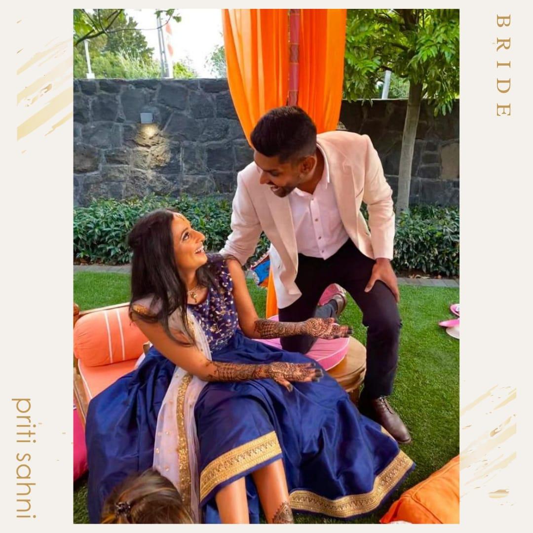 Anjanica New Zealand Mehendi - Bridal Couture - Top Fashion Brand and Designer Priti Sahni