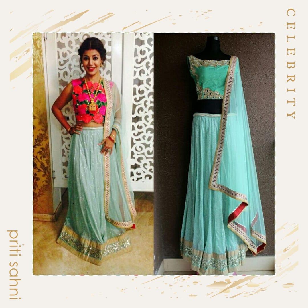 Debina Banerjee - Celebrity - Top Fashion Brand and Designer Priti Sahni