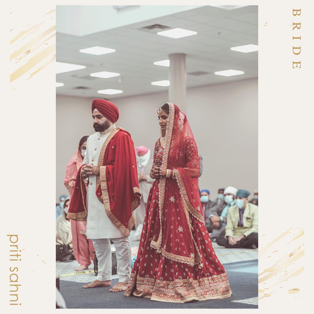 Enakshi Canada - Bridal Couture - Top Fashion Brand and Designer Priti Sahni - 1