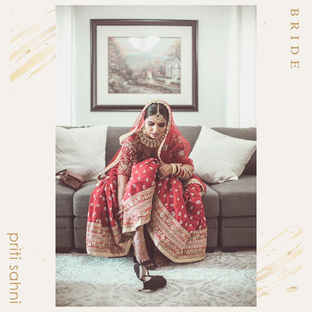 Enakshi Canada - Bridal Couture - Top Fashion Brand and Designer Priti Sahni - 2