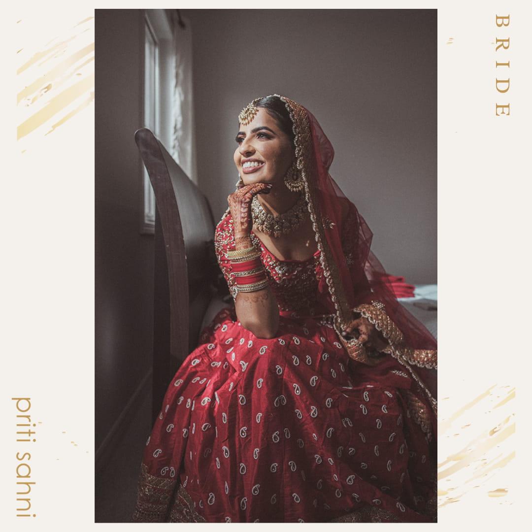 Enakshi Canada - Bridal Couture - Top Fashion Brand and Designer Priti Sahni - 3