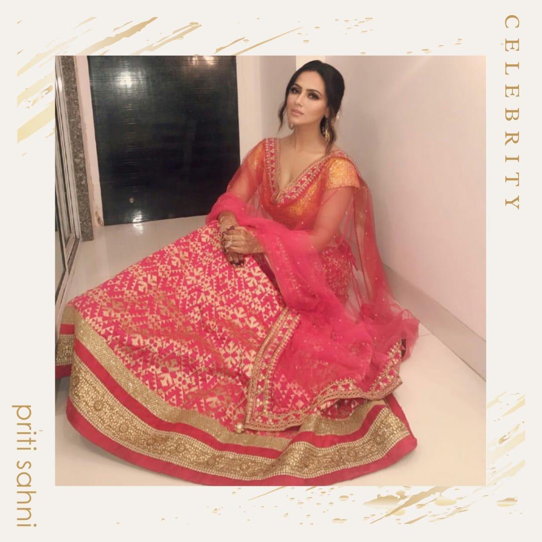 Heena Khan - Celebrity - Top Fashion Brand and Designer Priti Sahni