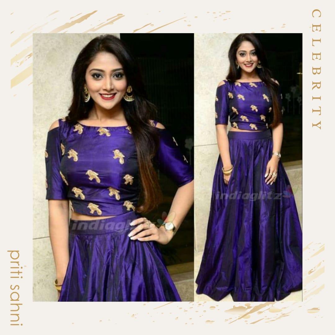 Nisha Doshi - Celebrity - Top Fashion Brand and Designer Priti Sahni