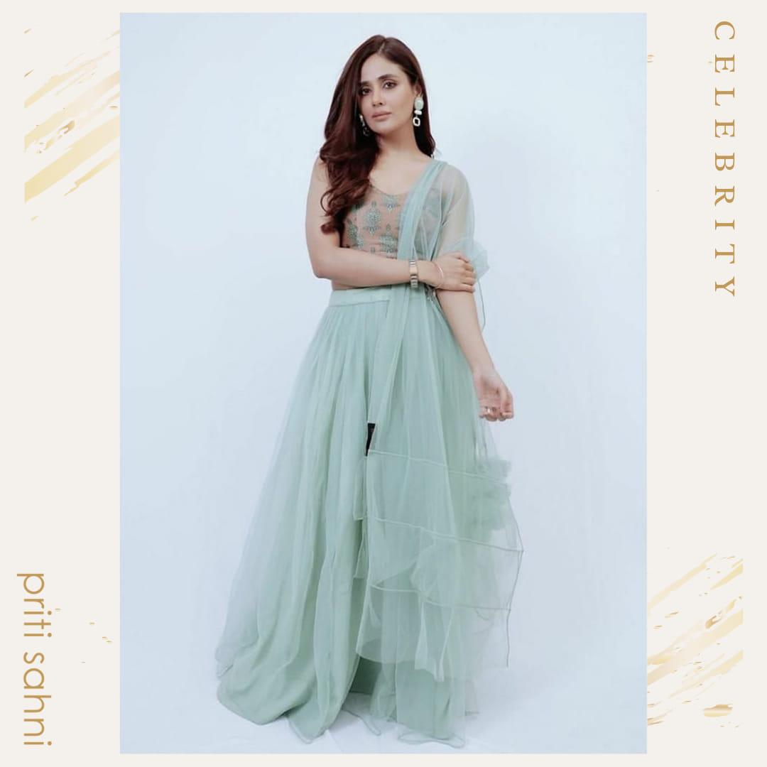 Parul Yadav - Celebrity - Top Fashion Brand and Designer Priti Sahni