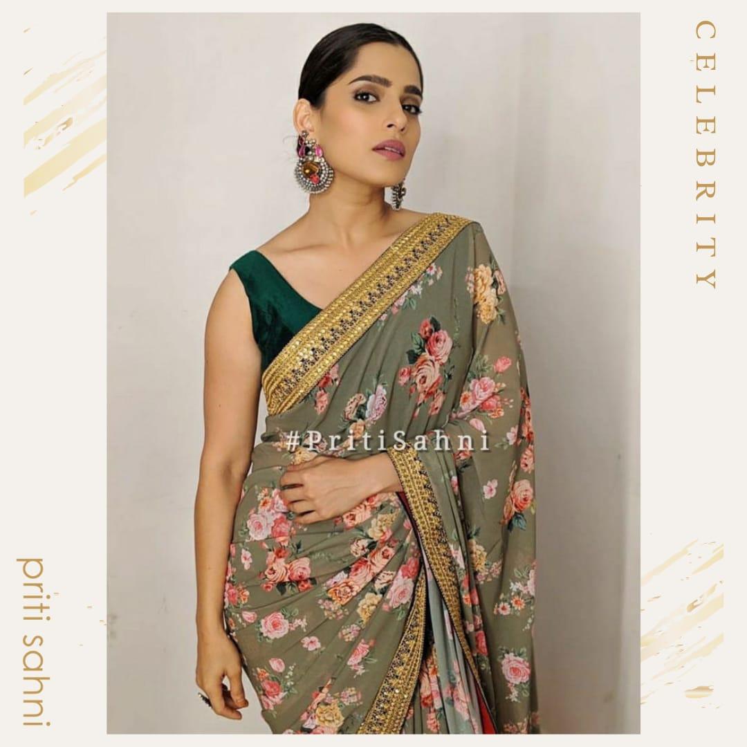 Priya Bapat - Celebrity - Top Fashion Brand and Designer Priti Sahni - 2