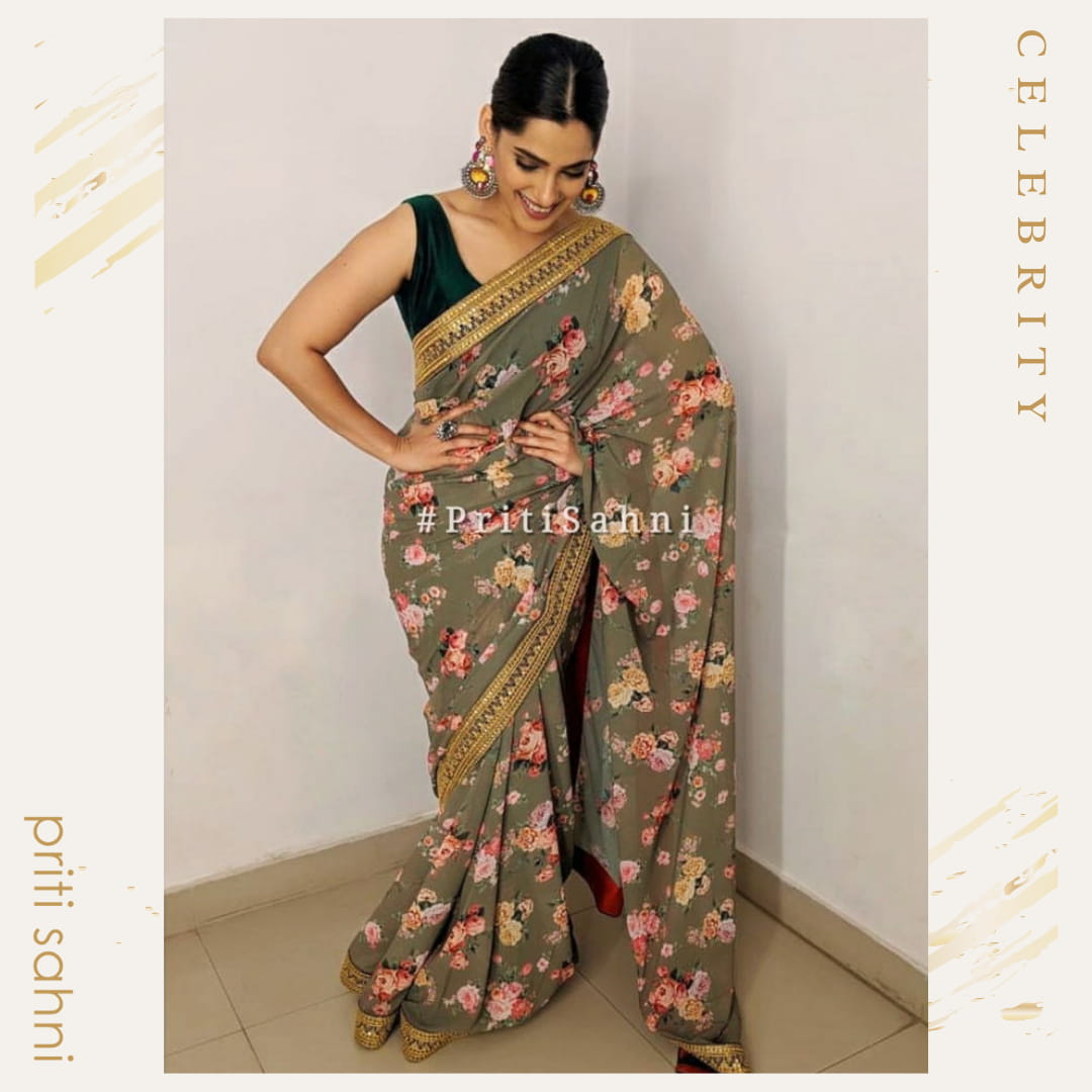 Priya Bapat - Celebrity - Top Fashion Brand and Designer Priti Sahni