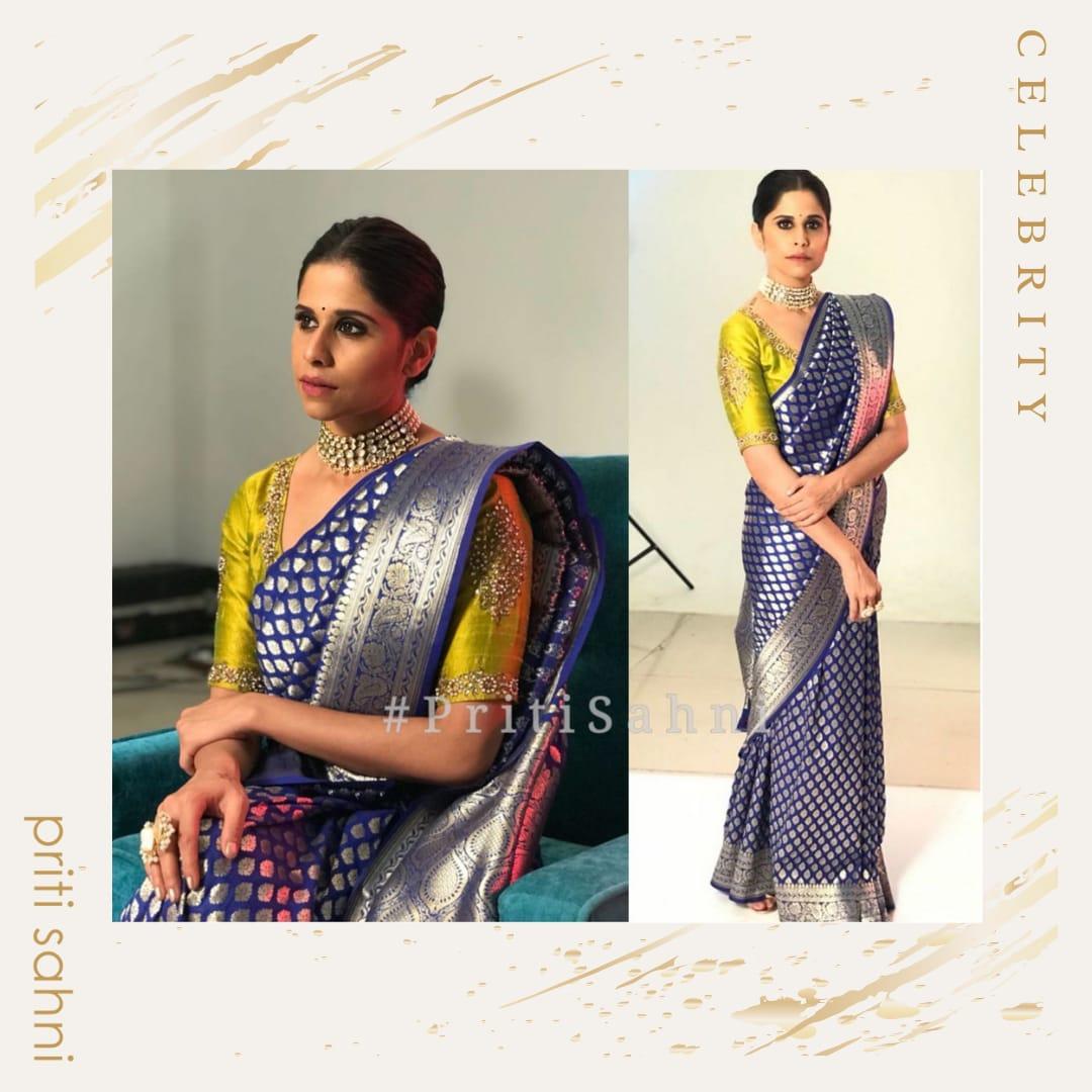 Sai Tamhankar - Celebrity - Top Fashion Brand and Designer Priti Sahni - 2