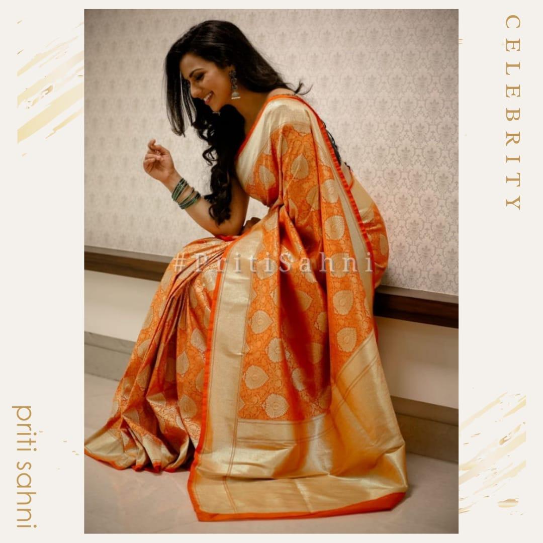 Shruthi Hariharan - Celebrity - Top Fashion Brand and Designer Priti Sahni - 2