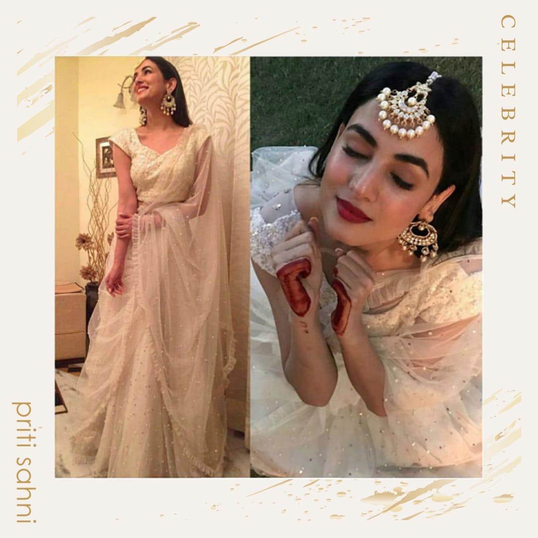 Sonal Chauhan - Celebrity - Top Fashion Brand and Designer Priti Sahni