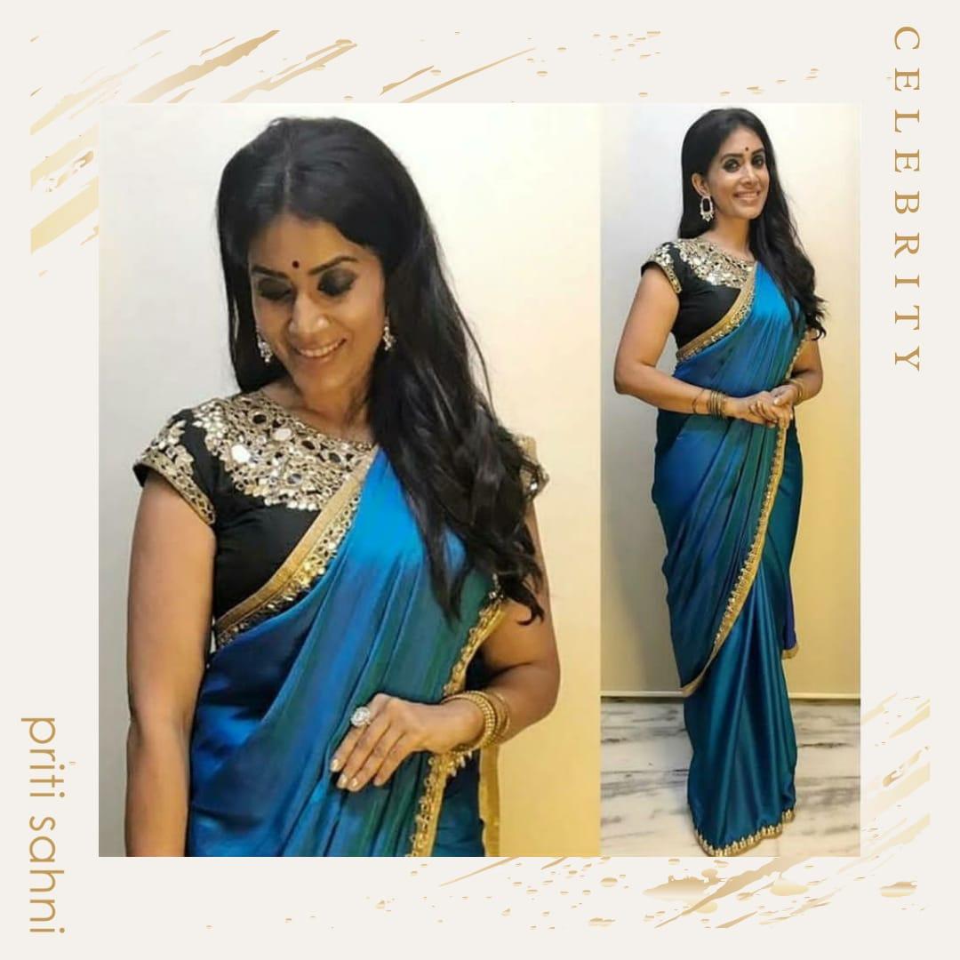 Sonali Kulkarni - Celebrity - Top Fashion Brand and Designer Priti Sahni - 2
