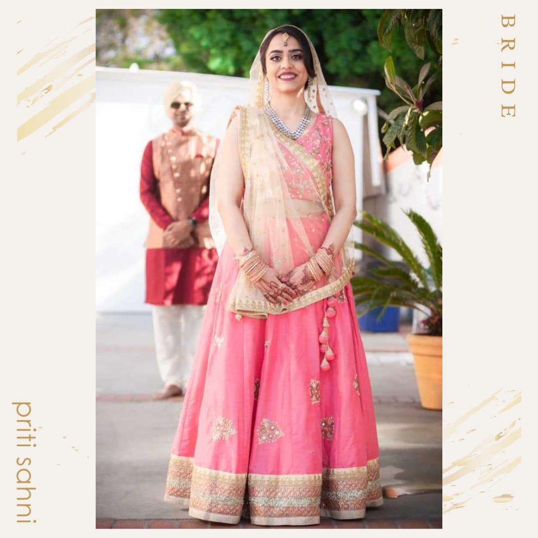 Swati California USA - Bridal Couture - Top Fashion Brand and Designer Priti Sahni