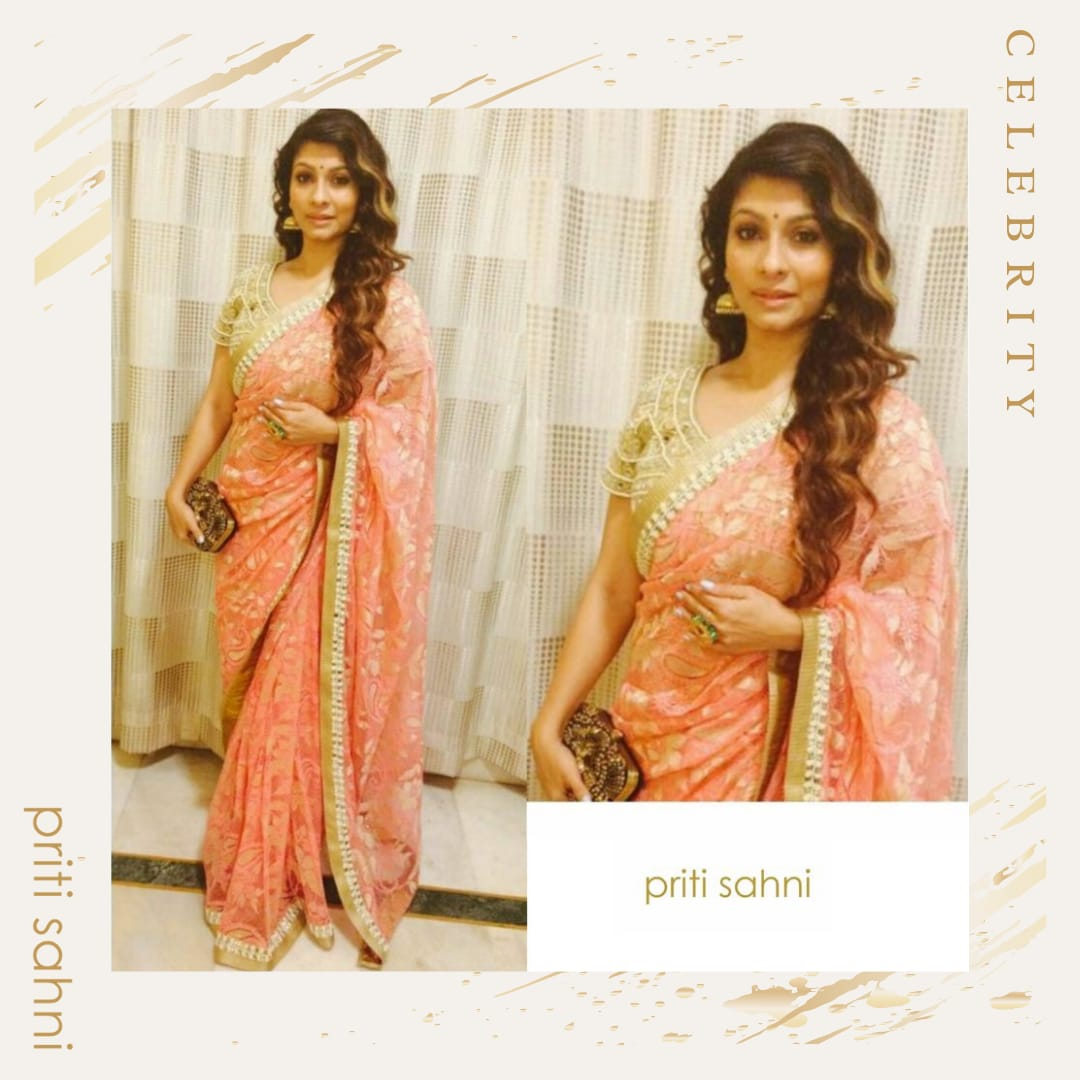 Tanisha Mukherjee - Celebrity - Top Fashion Brand and Designer Priti Sahni